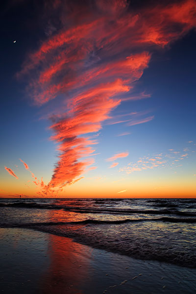 Nature & Travel Photography - Twister Cloud At Sunset In ...
